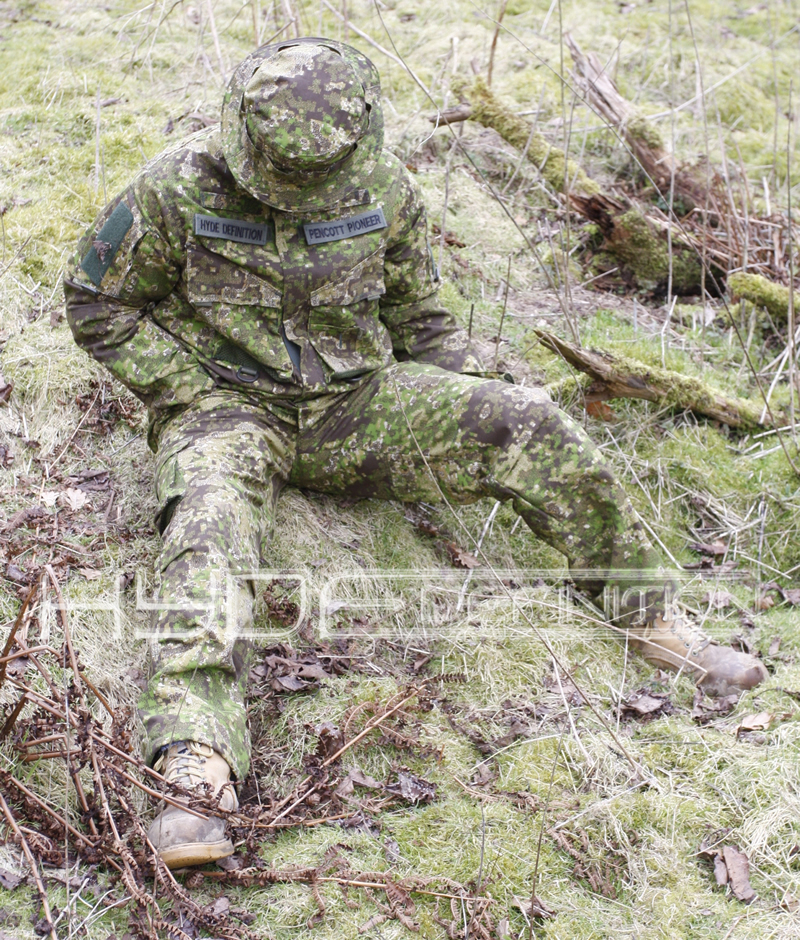 Hyde Definition British Designed Pencott Camouflage