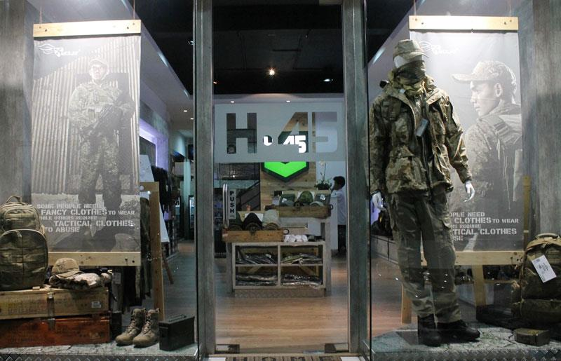 Women clothing stores Tactical clothing store