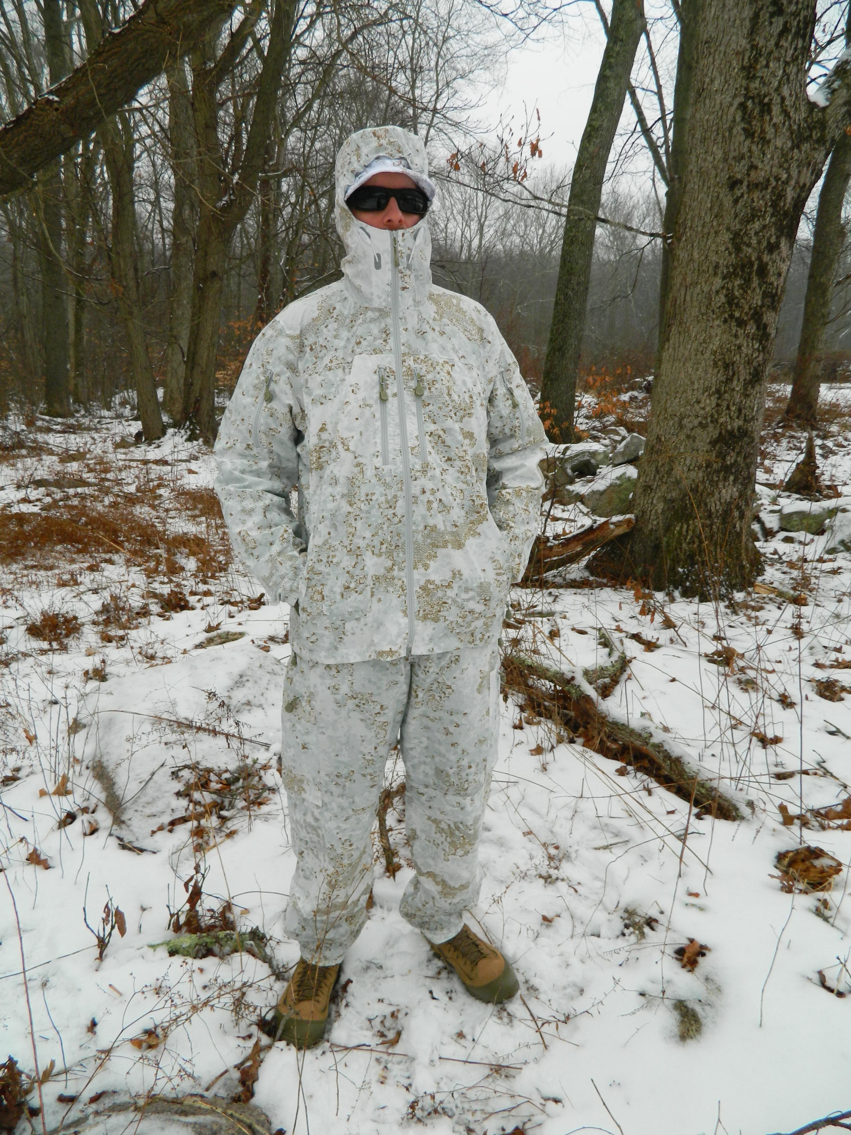 Snow Camo Jacket