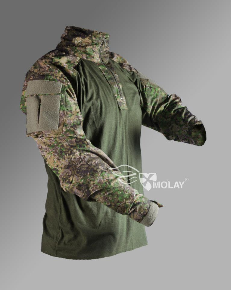 Silent Warrior Combat Shirt - GreenZone