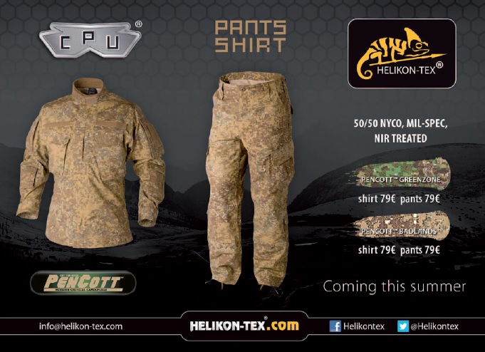 Helikon-Tex advert - Tactical News Magazine 6