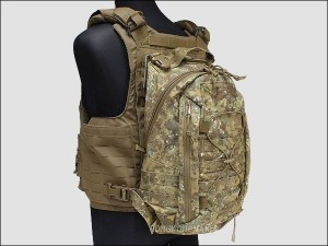 Removable Operator Pack mounted to a plate carrier.