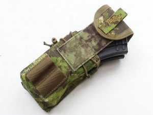 5.56 Double Mag Pouch loaded with Double AK Mags