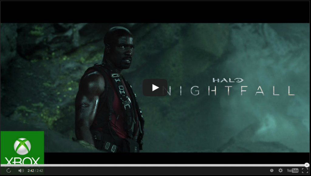 HALO Nightfall new trailer