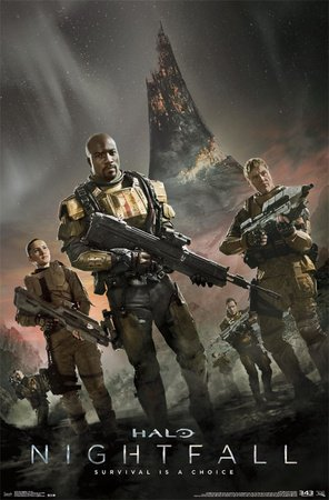 HALO-Nightfall poster